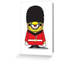 Palace Guard Minion Greeting Card