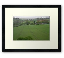 Wiltshire Landscape Framed Print