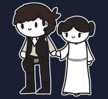 Han&Leia by CharlieeJ