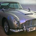 Aston Martin DB5 by RedHillDigital