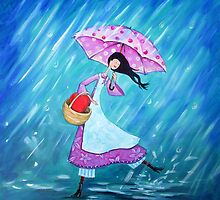 I will dance through the rain with you by Ira Mitchell-Kirk