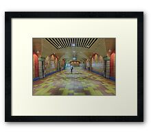 The Underground Framed Print