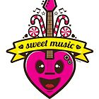 Sweet Music Vector by Diego Riselli