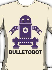 BULLETOBOT (purple) T-Shirt