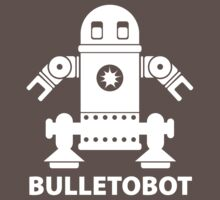BULLETOBOT (white) by jodalry