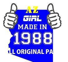 This Arizona Girl Made in 1988 by satro