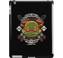 Mikey Party! iPad Case/Skin
