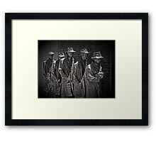 Another Generation of Americans has a Rendezvous with Destiny Framed Print