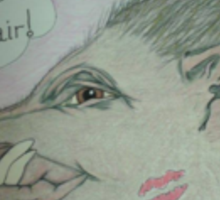 Egotistical Wild Boar Sticker