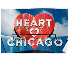 Chicago's Heart Motel Poster