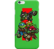 Teenage mutant ninja turtles MOVIE VERSION!!!!! iPhone Case/Skin