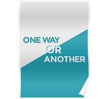 One Way or Another Poster