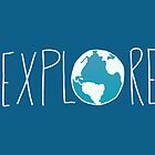 Explore the Globe II by Leah Flores