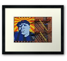 Commandante Biggie Framed Print