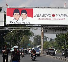 prabowo hatta rajasa billboard by bayu harsa