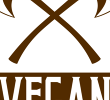 VEGAN COAT OF ARMS Sticker