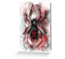 The Silent Spider Greeting Card