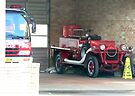 Baby Fire Engine, Alstonville, New South Wales. by Margaret  Hyde