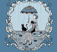 Rainy Day Blues by samerasart