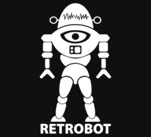RETROBOT (white) by jodalry