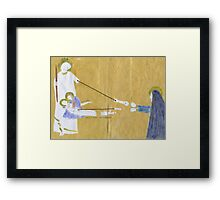 Lamentation of Christ and Resurrection (after Giotto) Framed Print