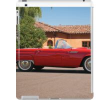 1956 Ford Thunderbird 'Profile in Red' iPad Case/Skin
