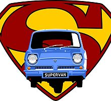 Reliant Supervan by car2oonz