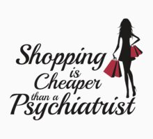 Shopping is cheaper than a psychiatrist by nektarinchen