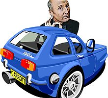 Jasper Carrott's Robin Reliant by car2oonz