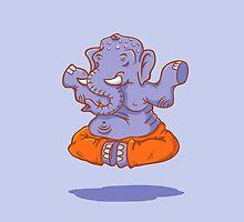 Elephant yoga by SIR13