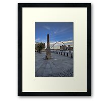 Newcastle Quayside Framed Print