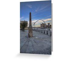 Newcastle Quayside Greeting Card