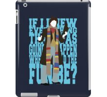 Quotable Who - Fourth Doctor iPad Case/Skin
