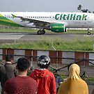 Citilink airplane by bayu harsa
