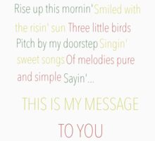 Three Little Birds - Bob Marley and the Wailers by LavenderGhosts