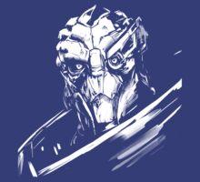 Garus - Mass Effect - White by Tex Minos