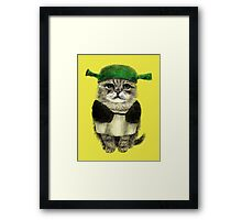 My owner is an IDIOT Framed Print