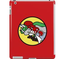 Horned Warrior Friends ROLLER DERBY (Unicorn, Narwhal, Rhino, Triceratops) iPad Case/Skin