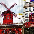 Parisian Mosaic - Piece 22 - Moulin Rouge by Igor Shrayer