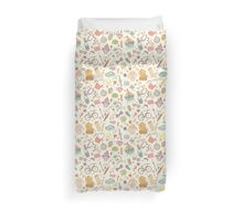 Cute traveling pattern Duvet Cover