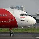 Air Asia airplane by bayu harsa