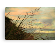 A Musical Sunset  Canvas Print