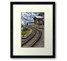 Swiss Railway Framed Print