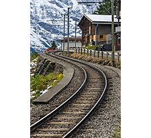 Swiss Railway Photographic Print