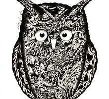 Owl by kaumalbaigart