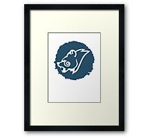 Windhelm Seal Framed Print