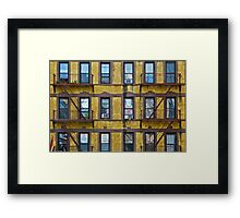 Apartments on the High Line Framed Print
