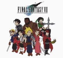 FF7 Characters by KewlZidane