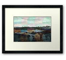 All About Italy. Tuscany Landscape 4 Framed Print