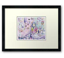 My Studio Framed Print